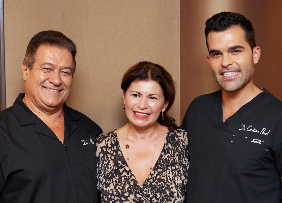 A picture of the Pavel Family at Smile First Family Dental Studio