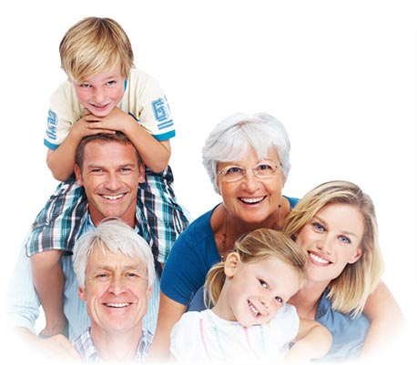 A picture of a Family at Smile First Chicago Dental