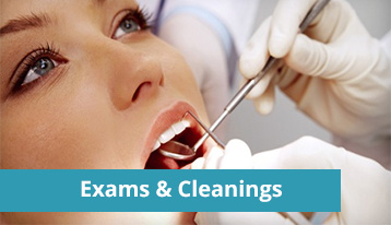 A Woman Getting A Dental Cleaning