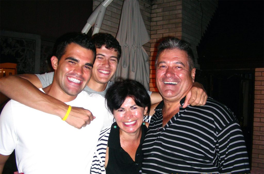 A Picture Of The Founder Family At Smile First Family Dental Studio